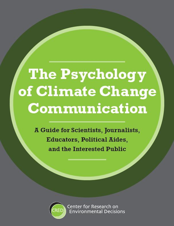 CRED Guide to Communicating about Climate Change