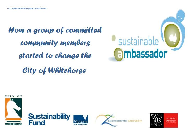 Sustainable Ambassador Report