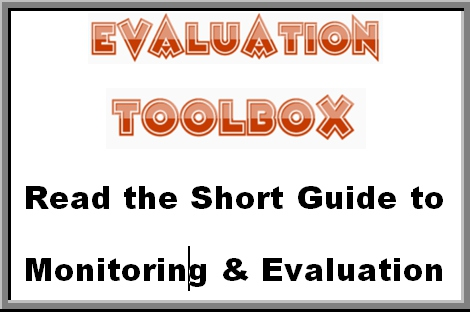 Short guide to evaluation